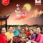 Hình ảnh Gia hảo Nguyệt viên 2015 cùng bánh trung thu Kinh Đô