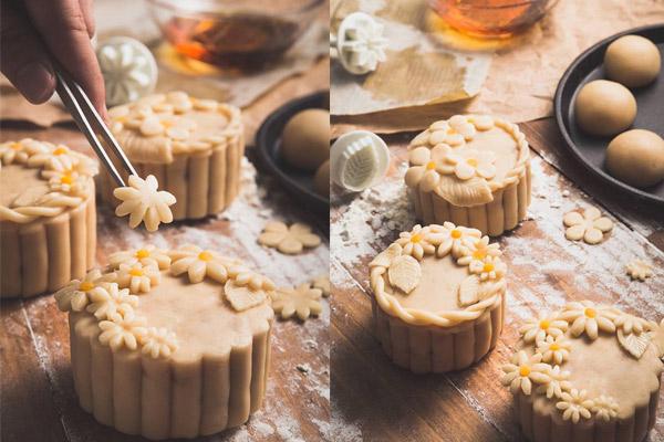 Hình ảnh bánh trung thu handmade sức hút mùa Trăng Vàng