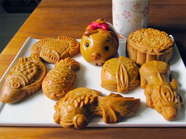 Bánh trung thu con heo đậu xanh Kinh Đô