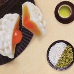 Bánh trung thu dẻo đậu xanh hạt dưa 1 trứng Kinh Đô