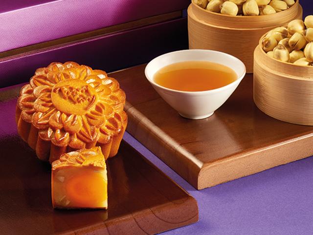 Bánh trung thu trăng vàng hồng ngọc an nhiên tím Kinh Đô