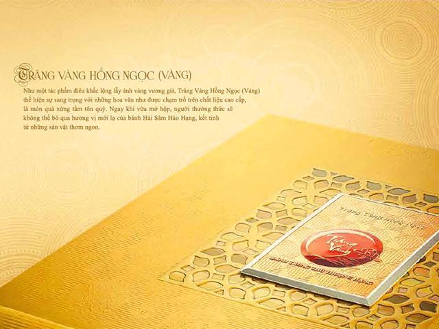 Bánh trung thu trăng vàng hồng ngọc vàng Kinh Đô