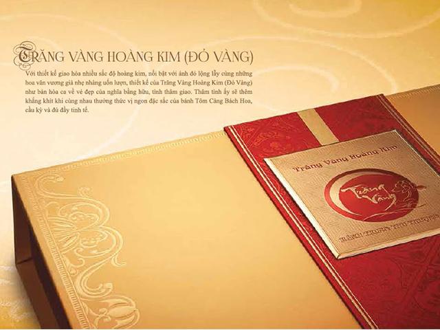 Bánh trung thu Kinh Đô Trăng Vàng Hoàn Kim (Đỏ Vàng))