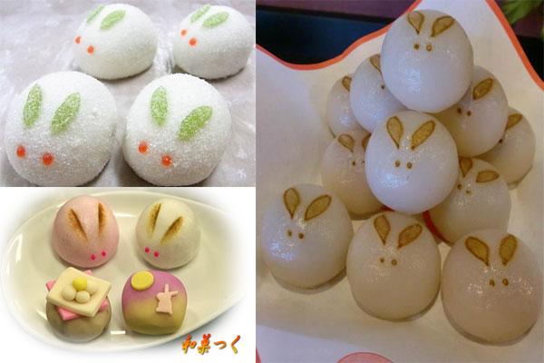 Hình ảnh bánh Trung Thu ở Nhật Bản