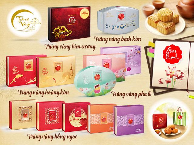 Hình ảnh bánh Trung Thu Kinh Đô cao cấp 2015