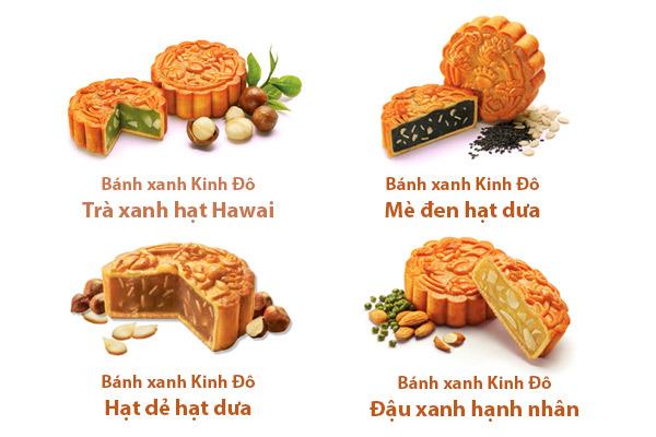 Hình ảnh bánh Trung thu dành cho người tiểu đường