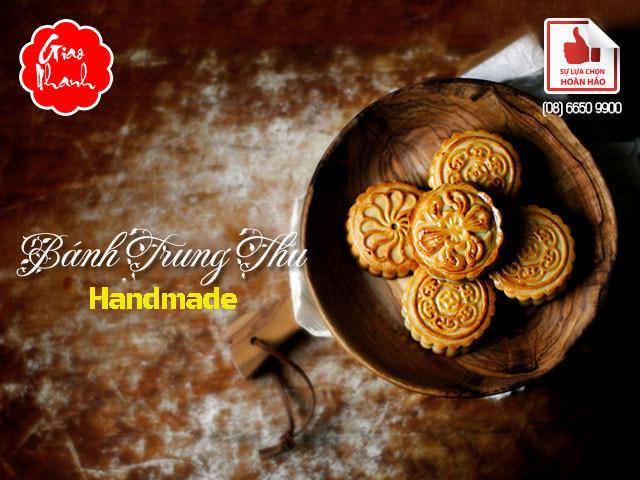 Hình ảnh bánh Trung thu handmade