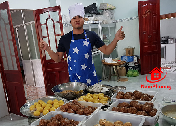 Bếp trưởng bánh trung thu handmade