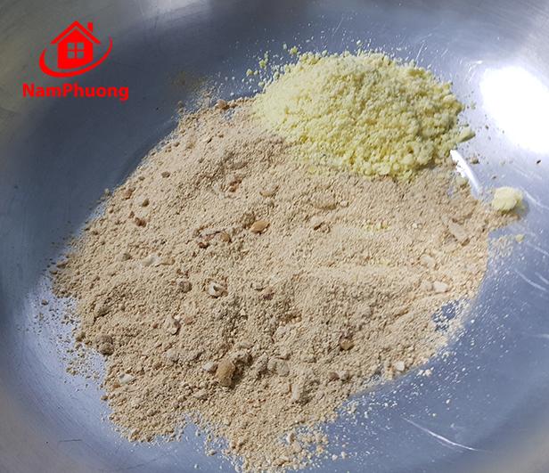 Bánh trung thu handmade nhà làm nhân đậu xanh